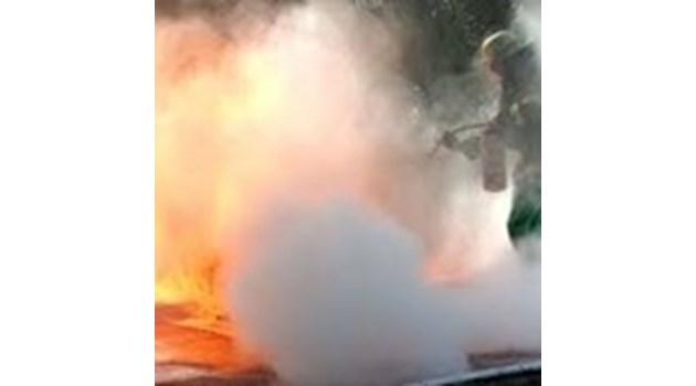 Спасеният от военни при пожар мъж в Пиперков чифлик бил трудноподвижен