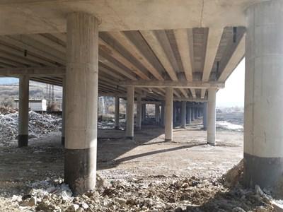 Ремонтираният мост. СНИМКИ: АПИ