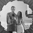 Меган Фокс качи снимка по хавлия с новото си гадже