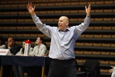 Стефан Михайлов е новият селекционер на женския национален отбор по баскетбол Снимка: bgbasket.com