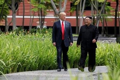 Връщането на тленните останки на американски военни беше едно от ключовите споразумения, постигнати на срещата между Доналд Тръмп и Ким Чен Ун. Снимка РОЙТЕРС