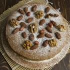 Вегетарианска тортас плодове и ядки