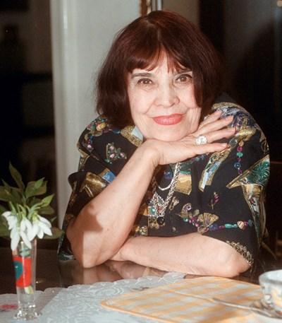 Мария Русалиева в дома си СНИМКА: РУМЯНА ТОНЕВА
