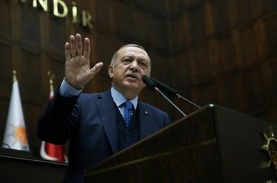 Ердоган СНИМКА: Ройтерс