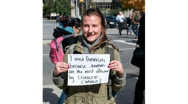 Номинирам тези 4 девойки - глобалното затопляне е много сериозен проблем