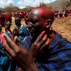 При масаите в Кения