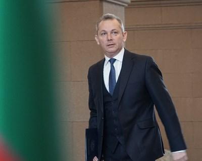 Председателят на агенцията за национална сигурност Димитър Георгиев