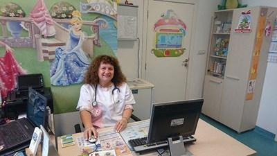 Д-р Величка Терзиева, общопрактикуващ лекар и педиатър в гр. София