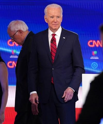 77-годишният бивш вицепрезидент на САЩ Джо Байдън е фаворит за демократическата номинация. СНИМКА: Ройтерс