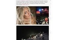 Румънска певица, пяла с Брегович, загина, след като колата й падна в река Дунав (Видео)