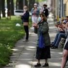 Броя на заразените с новия коронавирус в Полша днес достигна 38 190 души СНИМКА: Ройтерс