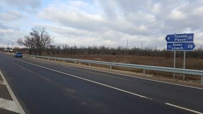 Днес откриха ремонтирания път Плевен-Ловеч СНИМКИ: АПИ