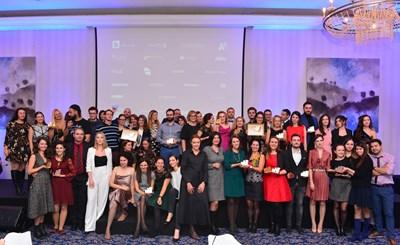 """Всички наградени във фестивала """"Ефи"""" СНИМКА: Лилия Йотова"""