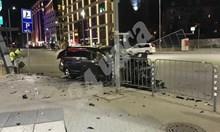 Вижте как джипът на дрогирания Кристиан помита колата на Милен Цветков (Видео)