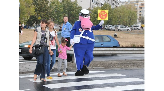2/3 от пешеходните пътеки у нас в карта на срама - незаконни (Обзор)