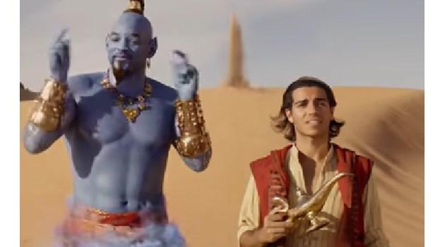 """Екшън и много музикална магия в новия трейлър на """"Аладин"""" (Видео)"""
