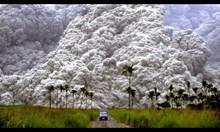 Вулканични изригвания уловени с камера