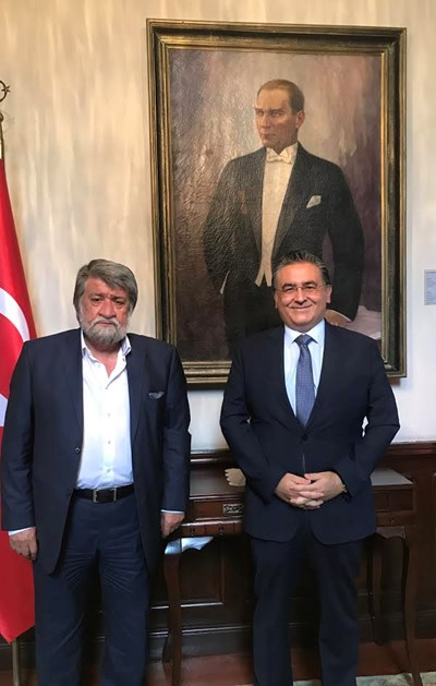 Вежди Рашидов се срещна днес с посланика на Турция в София Н.Пр. Хасан Улусой