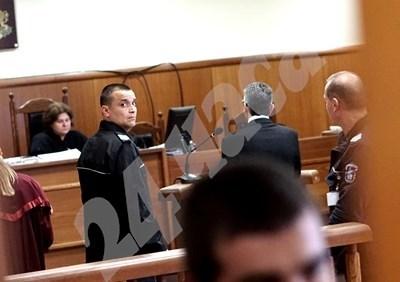 Ветко Арабаджиев в съда СНИМКА: Десислава Кулелиева