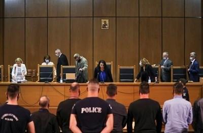 """Съд в Гърция издаде осъдителна присъда по обвинението, че крайнодясната партия """"Златна зора"""" СНИМКА: Ройтерс"""