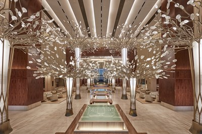 Хотел Mandarin Oriental Jumeira Снимки commercialinteriordesign