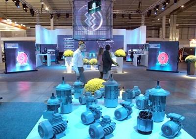 """Щандът на """"Елпром Троян"""" взе голямата награда за дизайн. Снимка: Евгени Цветков"""