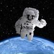 Астронавтката Кейт Рубинс гласува от космоса