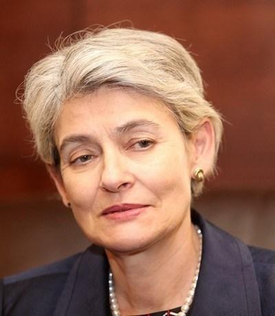 """""""Като генерален директор на ЮНЕСКО работя добре както с Русия, така и със САЩ"""", посочва Бокова в интервюто. Снимка Архив"""