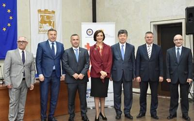 Кметът Атанас Камбитов посрещна посланиците на Грузия, Казахстан и Беларус