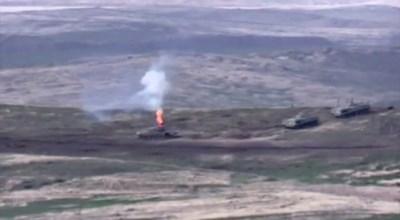 Военните действия в Нагорни Карабах са продължили в нощта срещу понеделник СНИМКИ: Ройтерс