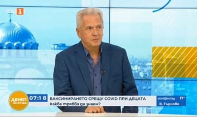 Д-р Калин Лисички Кадър: БНТ