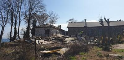 Първите артефакти изскочиха при почистването на терена в съседство до бившата станция на МВР.