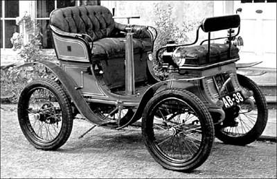 Де Дион Бутон е първият масов автомобил у нас.