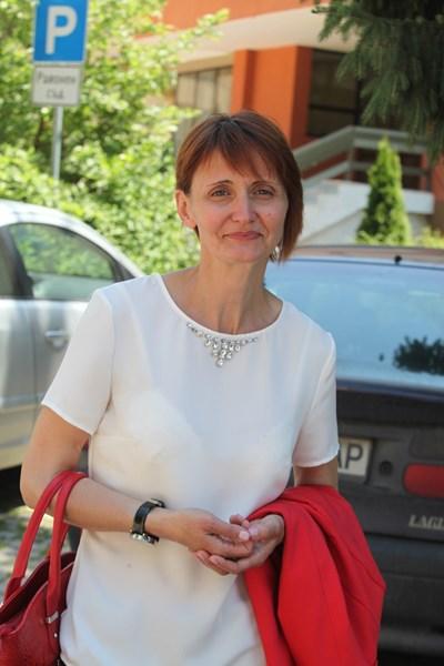 Анита Гълъбова СНИМКА: Румяна Тонeва