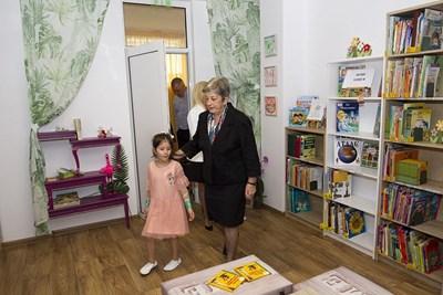 """Детска градина """"Детски рай"""" в Стара Загора е първата в общината, която откри своя библиотека. СНИМКА: Архив"""
