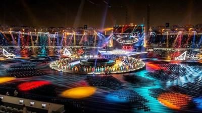 Стадионът на който се провежда церемонията по откриването на Special Olympics СНИМКА: Special Olympics