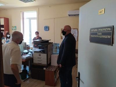 Иван Гешев посети Стара Загора и Сливен и разговаря с прокурорите от окръжните и районни прокуратури