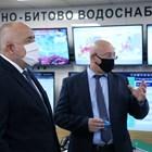 Бойко Борисов и Емил Димитров СНИМКА: Министерски съвет
