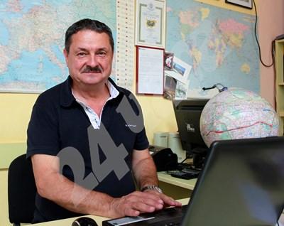 Проф. Георги Рачев СНИМКА: 24 часа