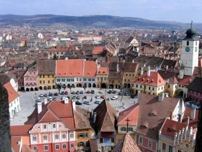 Град Сибиу бе издигнат до западните стандарти от кмета Клаус Йоханис.