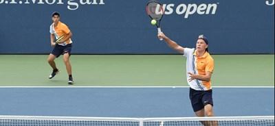 Адриан Андреев (вляво) е шампион на двойки от US Open. Снимка: USOpen.org
