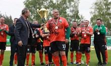 """Ветераните на """"Витоша"""" като """"Лудогорец"""" с 4-та поредна титла, Борисов - плеймейкър (Снимки)"""