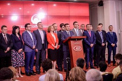 Премиерът на Република Македония Зоран Заев обявява договореното с Гърция.