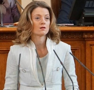 Поправките в закона за висшето образование обяви шефката на просветната комисия в парламента Милена Дамянова. Снимка: Архив