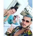 Гери Малкоданска на почивка с половинката си в Миконос