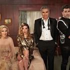 Актьорите, които играят семейство Роуз в комедийния сериал.
