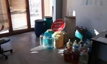 Митничари конфискуваха 230 литра алкохол менте
