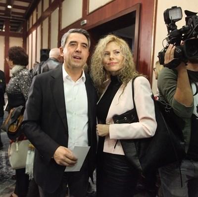 Росен и Деси Плевнелиева Снимка: Йордан Симеонов
