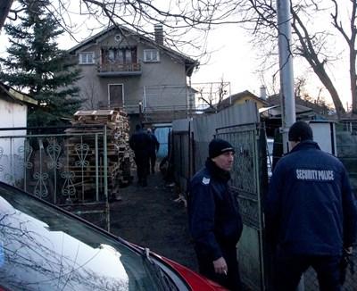 Къщата, където са станали убийствата.