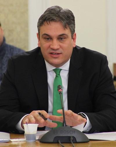 Шефът на КПКОНПИ Пламен Георгиев